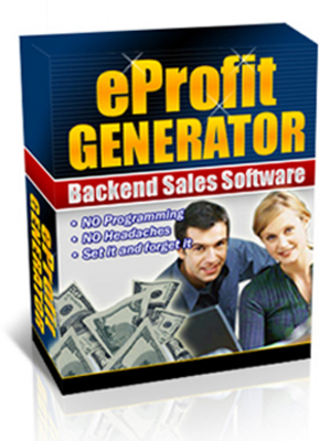 Pay for EProfit Generator - Website Software With Reseller Rights