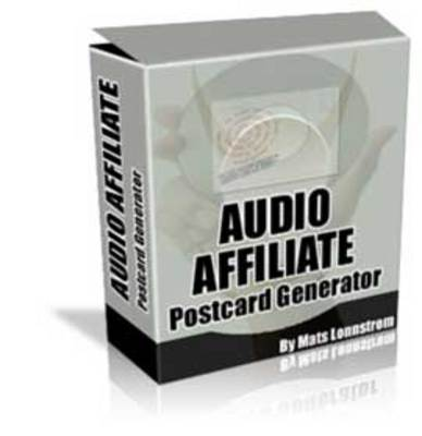 Pay for Affiliate Audio & Video Email Postcard Generator