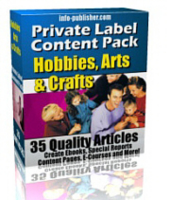 Pay for 35 Hobby And Craft PLR Articles