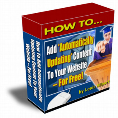 Pay for Automatic Website Content