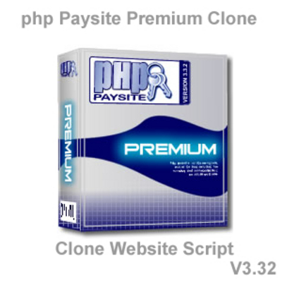 Pay for php Paysite Premium V3-32 Clone Website Script