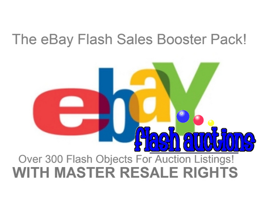 Pay for eBay Auction Flash Sales Booster Package