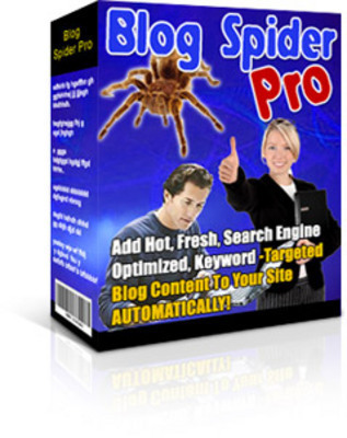 Pay for Blogging - Blog Spider Pro With MRR