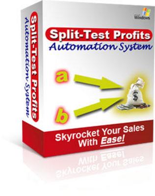 Pay for Split Test Profits php Script