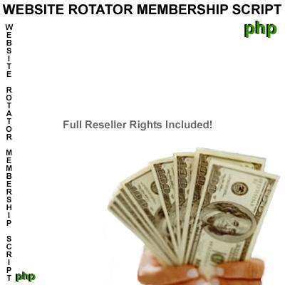 Pay for Website Rotator Membership php Script
