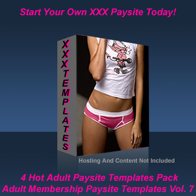 Pay for Adult Membership Paysite Templates Vol. 7