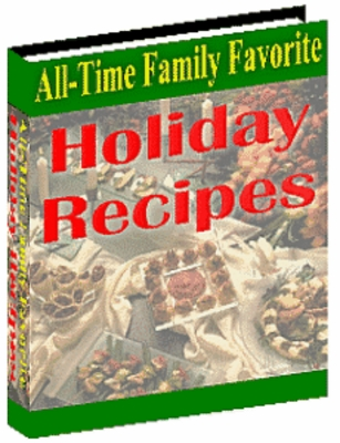 Pay for Holiday Recipes - A Collection