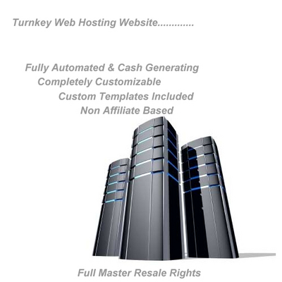 Pay for Turnkey High Profit Automated Reseller Hosting Site