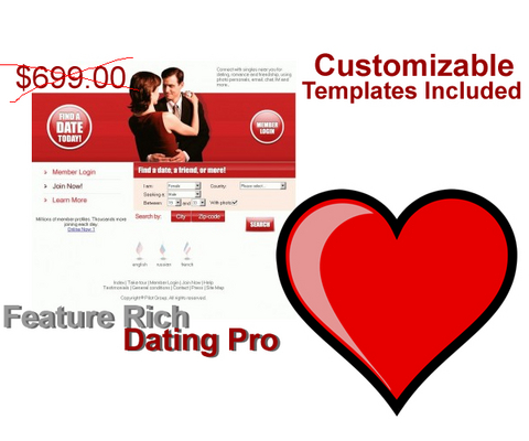 Pay for Feature Rich - Dating Pro php Script plus