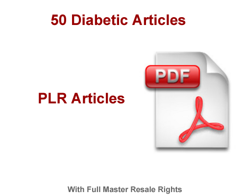 Pay for 50 Diabetic Articles