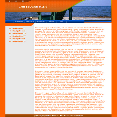 Pay for Sea & Water & Ocean Website Template