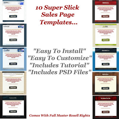 sales slick template - 10 super slick sales page templates download templates