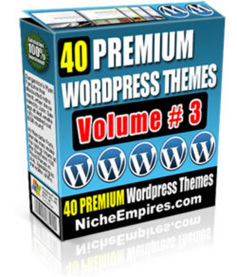 Pay for 40 Hot WordPress Themes