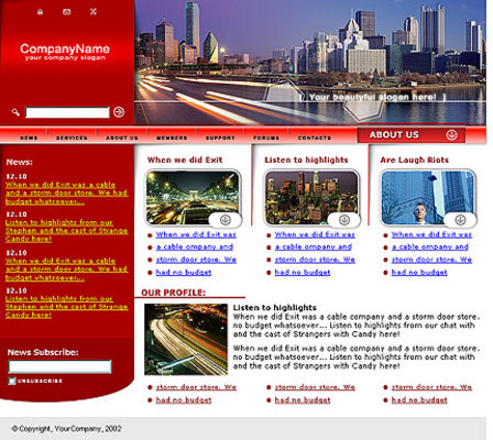 Pay for Whats Hot In My City? Website Template