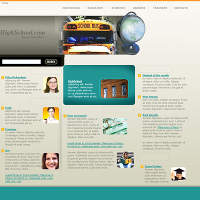 Pay for Flash School & Educational Website Template