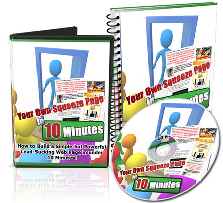 Pay for Your Own Squeeze Page In 10 Minutes