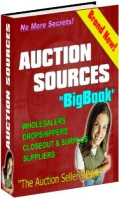 Pay for Auction Sources Big Book