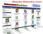 Thumbnail *NEW!* Turnkey Ebook Store With Resale Rights
