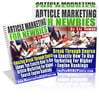 Thumbnail *NEW!* Article Marketing For Newbie - Master Resell Rights