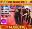 Thumbnail *NEW!* 2009 Blog Frenzy Package PLR! (Volumes 1-4)