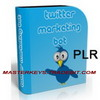 Thumbnail *NEW!* Twitter Marketing Bot Software with PLR