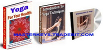 Thumbnail *NEW!* Yoga  Ebooks Collection Package  Audio Resell Rights