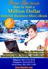 Thumbnail *NEW!* How To Start A Million Dollar Internet Business eBook