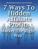 Thumbnail  *NEW!* 7 Ways To Hidden Affiliate Profits - MRR