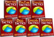Thumbnail  *NEW!* 350 Social Media Tactics  -Master Resale Rights