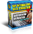 Thumbnail *NEW!*	 VIP Interactive Site Creator - MASTER RESALE RIGHTS |  Build Interactive SEO Niche websites