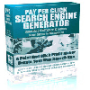 Thumbnail *NEW!* Pay Per Click Search Engine Generator w Master Resell Rights | Generate your own profitable Pay Per Click Search Site...in less than a minute!