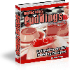 Thumbnail *NEW*   Delicious Pudding Recipes - Collection of 167 Pudding Recipes  w Resale Rights