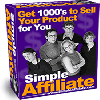 Thumbnail *NEW* The Simple Affiliate -Resale Rights | Get 1000 s to Sell Your Product for You!