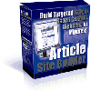 Thumbnail *NEW* Article Site Builder - Build Targeted Article Based Content Websites In Minutes -