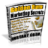 Thumbnail *NEW!*  Golden Bum Marketing Secrets For Instant Cash! - Private Label Rights