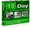 Thumbnail *NEW!* 15 Days To Resell Rights Success - MASTER RESALE RIGHTS | Own The 15 Day Reseller s Success Roadmap!
