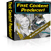 Thumbnail *NEW!* Fast Content Producer Software Program