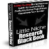 Thumbnail *NEW!* Little Niche Research Black Book