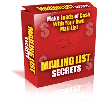 Thumbnail *NEW!* Mailing List Profits - MASTER RESALE RIGHTS | Make Money With Every Way Possible From Your Mailing List At Cult Status!