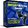 Thumbnail *NEW*  Instant Meta Tag Creator |  INSTANT META Tag Maker SOFTWARE| Building Free And Effective Search Engine Listings
