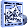 Thumbnail *NEW!*  100 Instant PDF Templates - Private Label Rights