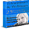 Thumbnail *NEW!* Teleseminars And Webinars  -Master Resell Rights