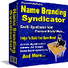 Thumbnail *NEW* Name Branding Syndicator - Resell Rights!  | Personally Name Brand Yourself Worldwide
