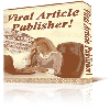 Thumbnail *NEW!* Viral Article Publisher Software Program | Great way to get free advertising