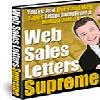 Thumbnail *NEW!*  Web Sales Letters Supreme - RESALE RIGHTS