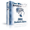Thumbnail *NEW!*   The Wizard s Brainwaves - 999 Different Money Making Ideas - MASTER RESALE RIGHTS