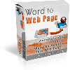 Thumbnail *NEW!* Word To Web Page - Resell Rights - Can Turn Your Dusty E-Books