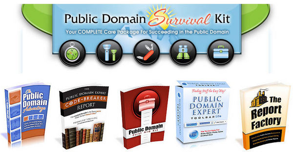 Pay for *NEW!* The Public Domain Survival Kit W Master Resell Rights