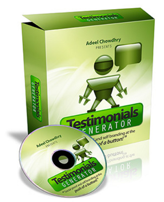 Pay for *NEW!* Testimonials Generator - Master Resale Rights