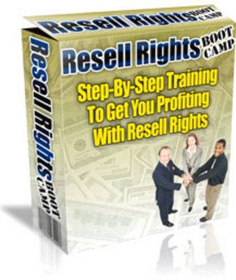 Pay for *NEW!* Internet Marketing Resell Right Boot Camp audio book